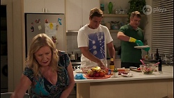 Sheila Canning, Kyle Canning, Gary Canning in Neighbours Episode 8078