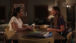 Dipi Rebecchi, Elly Brennan in Neighbours Episode 8078