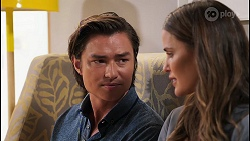 Leo Tanaka, Elly Conway in Neighbours Episode 8078
