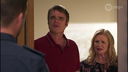 Mark Brennan, Gary Canning, Sheila Canning in Neighbours Episode 8078