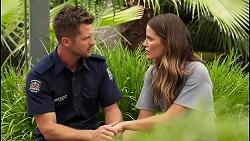 Mark Brennan, Elly Conway in Neighbours Episode 8078