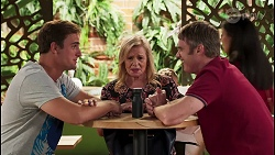 Kyle Canning, Sheila Canning, Gary Canning in Neighbours Episode 8078