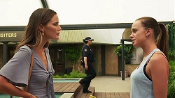 Elly Brennan, Bea Nilsson in Neighbours Episode 8079