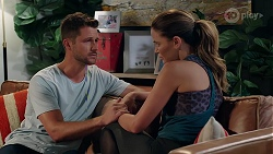 Mark Brennan, Elly Brennan in Neighbours Episode 8080