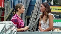 Amy Williams, Elly Brennan in Neighbours Episode 8080