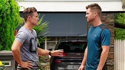 Aaron Brennan, Mark Brennan in Neighbours Episode 8080