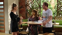 Chloe Brennan, Terese Willis, Kyle Canning in Neighbours Episode 8080