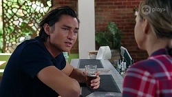 Leo Tanaka, Amy Williams in Neighbours Episode 8080