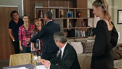 Leo Tanaka, Amy Williams, Terese Willis, Paul Robinson, Max Walpole, Chloe Brennan in Neighbours Episode 8080