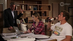 Paul Robinson, Amy Williams, Kyle Canning in Neighbours Episode 8081