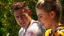 Aaron Brennan, Chloe Brennan in Neighbours Episode 8081