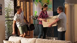 Aaron Brennan, Amy Williams, Gary Canning in Neighbours Episode 8082