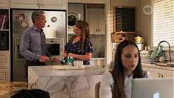 Paul Robinson, Terese Willis, Imogen Willis in Neighbours Episode 8082