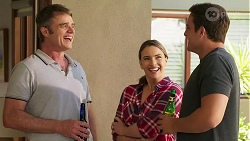 Gary Canning, Amy Williams, Kyle Canning in Neighbours Episode 8082