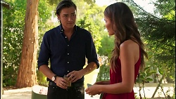 Leo Tanaka, Elly Brennan in Neighbours Episode 8084