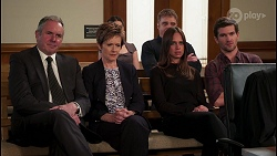 Karl Kennedy, Susan Kennedy, Amy Williams, Gary Canning, Bea Nilsson, Ned Willis in Neighbours Episode 8084