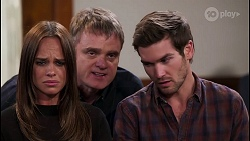 Bea Nilsson, Gary Canning, Ned Willis in Neighbours Episode 8084