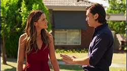 Elly Brennan, Leo Tanaka in Neighbours Episode 8084