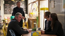 Karl Kennedy, Gary Canning, Susan Kennedy, Bea Nilsson in Neighbours Episode 8084