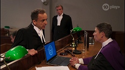 Nicholas Archer, Judge Barton in Neighbours Episode 8084