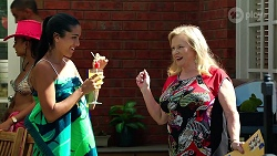 Yashvi Rebecchi, Sheila Canning in Neighbours Episode 8086