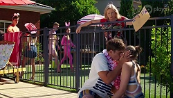 Sheila Canning, Kyle Canning, Chloe Brennan in Neighbours Episode 8086