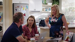 Gary Canning, Amy Williams, Sheila Canning in Neighbours Episode 8086