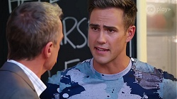 Paul Robinson, Aaron Brennan in Neighbours Episode 8086