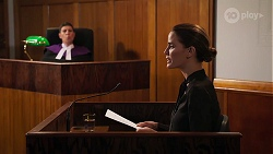 Judge Barton, Elly Brennan in Neighbours Episode 8087