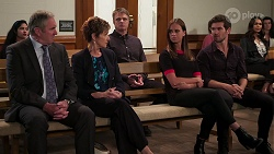 Karl Kennedy, Susan Kennedy, Gary Canning, Bea Nilsson, Ned Willis in Neighbours Episode 8087