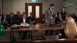 Karl Kennedy, Susan Kennedy, Gary Canning, Elly Brennan, Bea Nilsson, Ned Willis, Finn Kelly, Imogen Willis in Neighbours Episode 8087