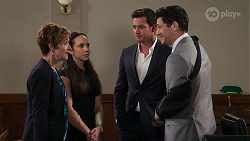 Susan Kennedy, Bea Nilsson, Shaun Watkins, Finn Kelly in Neighbours Episode 8087