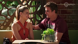 Chloe Brennan, Kyle Canning in Neighbours Episode 8087