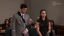 Finn Kelly, Imogen Willis in Neighbours Episode 8087