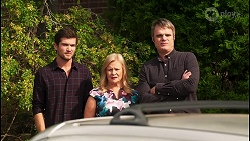 Ned Willis, Sheila Canning, Gary Canning in Neighbours Episode 8088