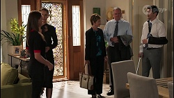 Bea Nilsson, Elly Brennan, Susan Kennedy, Karl Kennedy, Finn Kelly in Neighbours Episode 8088