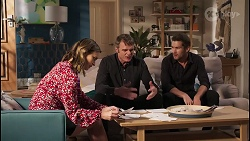 Amy Williams, Gary Canning, Mark Brennan in Neighbours Episode 8088