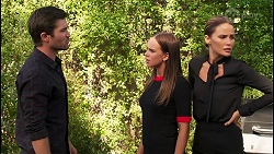 Ned Willis, Bea Nilsson, Elly Brennan in Neighbours Episode 8088