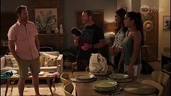 Shane Rebecchi, Toadie Rebecchi, Dipi Rebecchi, Yashvi Rebecchi in Neighbours Episode 8088
