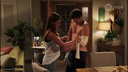 Bea Nilsson, Finn Kelly in Neighbours Episode 8088