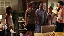 Bea Nilsson, Ned Willis, Karl Kennedy, Susan Kennedy, Finn Kelly in Neighbours Episode 8089