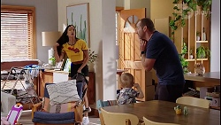 Yashvi Rebecchi, Hugo Somers, Toadie Rebecchi in Neighbours Episode 8089