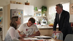 Amy Williams, Kyle Canning, Paul Robinson in Neighbours Episode 8090