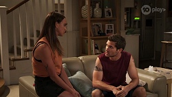 Bea Nilsson, Ned Willis in Neighbours Episode 8090