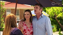 Terese Willis, Amy Williams, Gary Canning in Neighbours Episode 8091