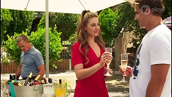 Paul Robinson, Chloe Brennan, Kyle Canning in Neighbours Episode 8091