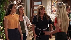 Imogen Willis, Gemma Willis, Terese Willis, Roxy Willis in Neighbours Episode 8091
