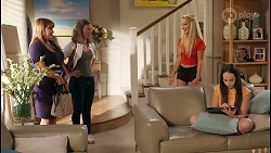 Terese Willis, Gemma Willis, Roxy Willis, Imogen Willis in Neighbours Episode 8091