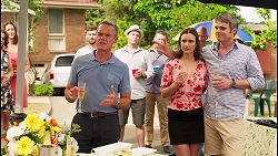 Paul Robinson, Amy Williams, Gary Canning in Neighbours Episode 8091
