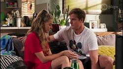 Chloe Brennan, Kyle Canning in Neighbours Episode 8091